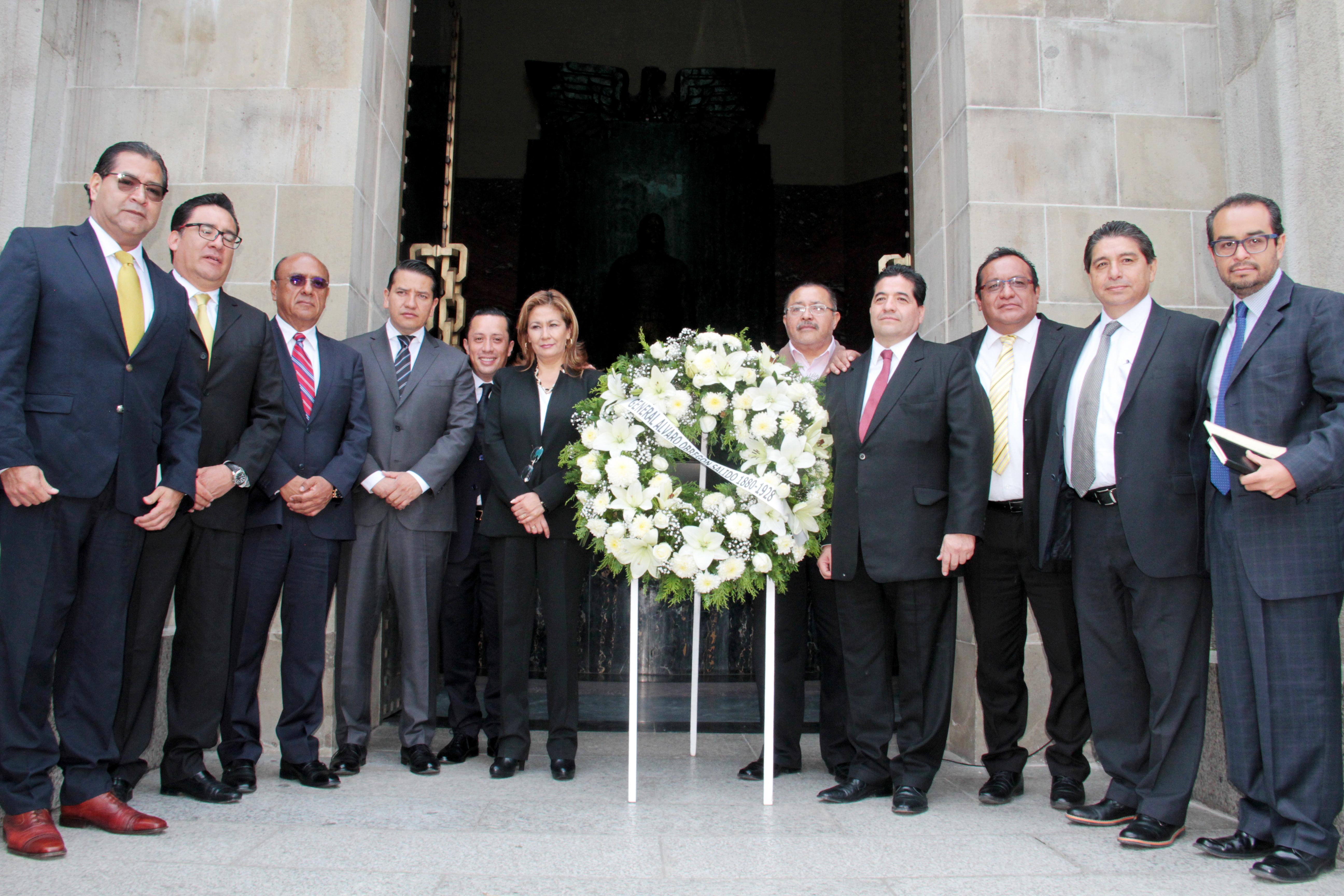 CELEBRACIÓN DEL 89 ANIVERSARIO  LUCTUOSO DEL GENERAL ÁLVARO OBREGÓN