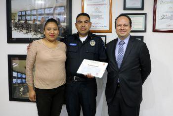 RECONOCE FICEDA LABOR DE POLICÍA ANTE ASALTO