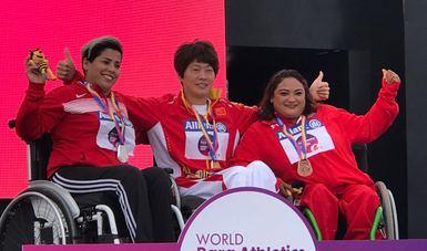 Récord y bronce para Gloria Zarza en Mundial de Londres