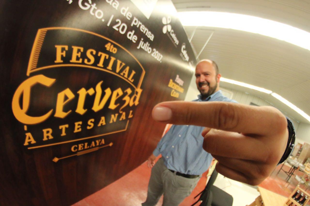 Presentan 4to Festival de Cerveza Artesanal en Celaya