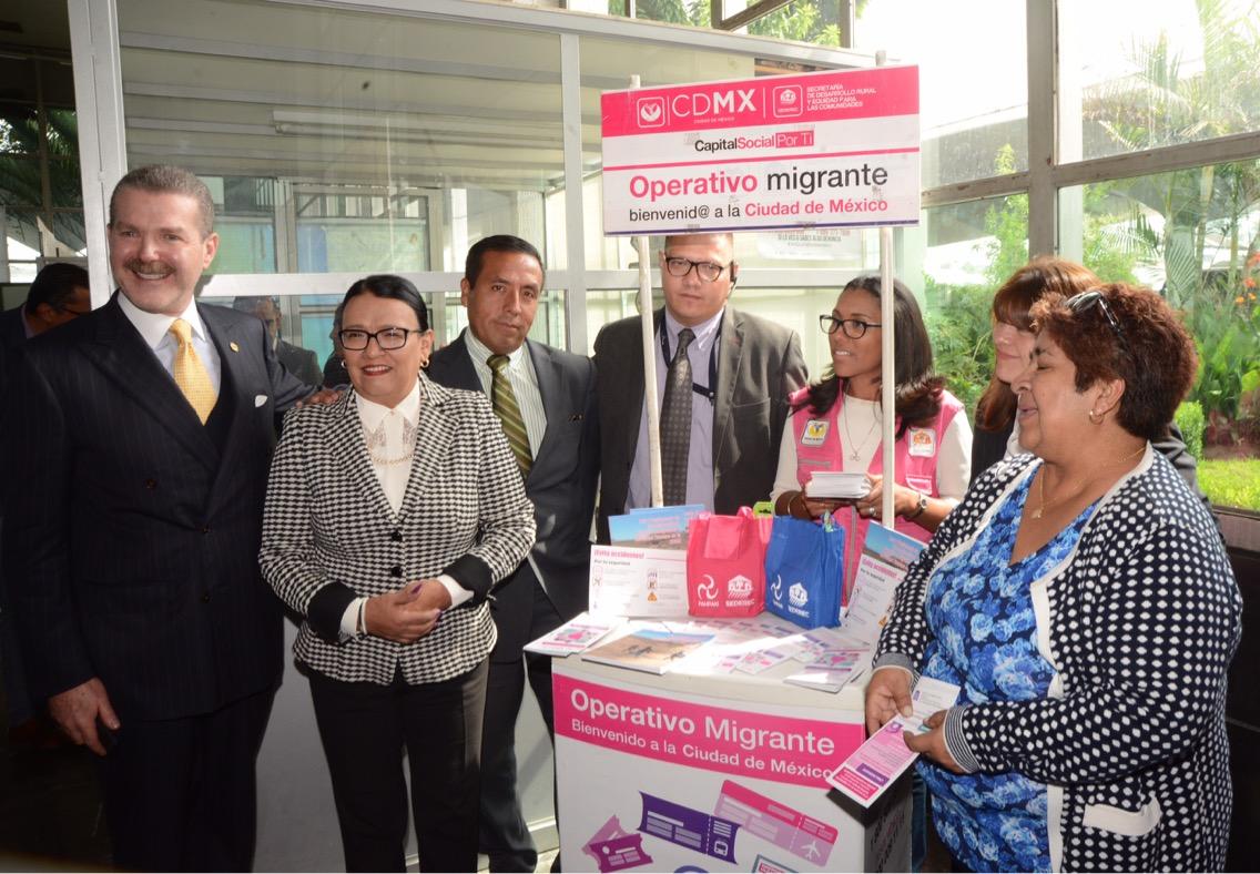 Inicia operativo social para recibir a migrantes en temporada de verano