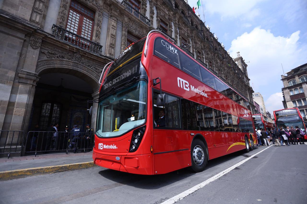 Contará CDMX con transporte público de clase mundial