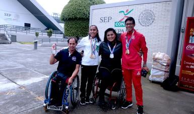 Regresan medallistas de Mundial de Para Atletismo Londres 2017