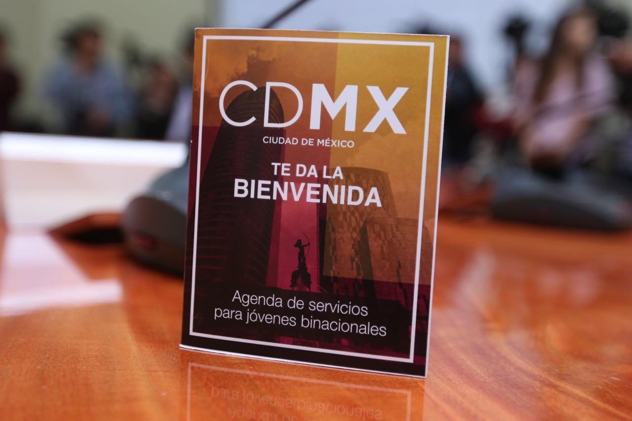 Apoya Gobierno CDMX a jóvenes que retornan de Estados Unidos