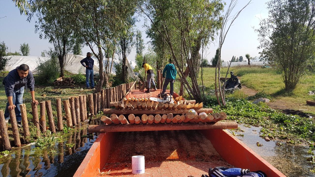 Xochimilco puso en marcha el proyecto Rescate Integral de la Zona Ecológica Canal de Apatlaco