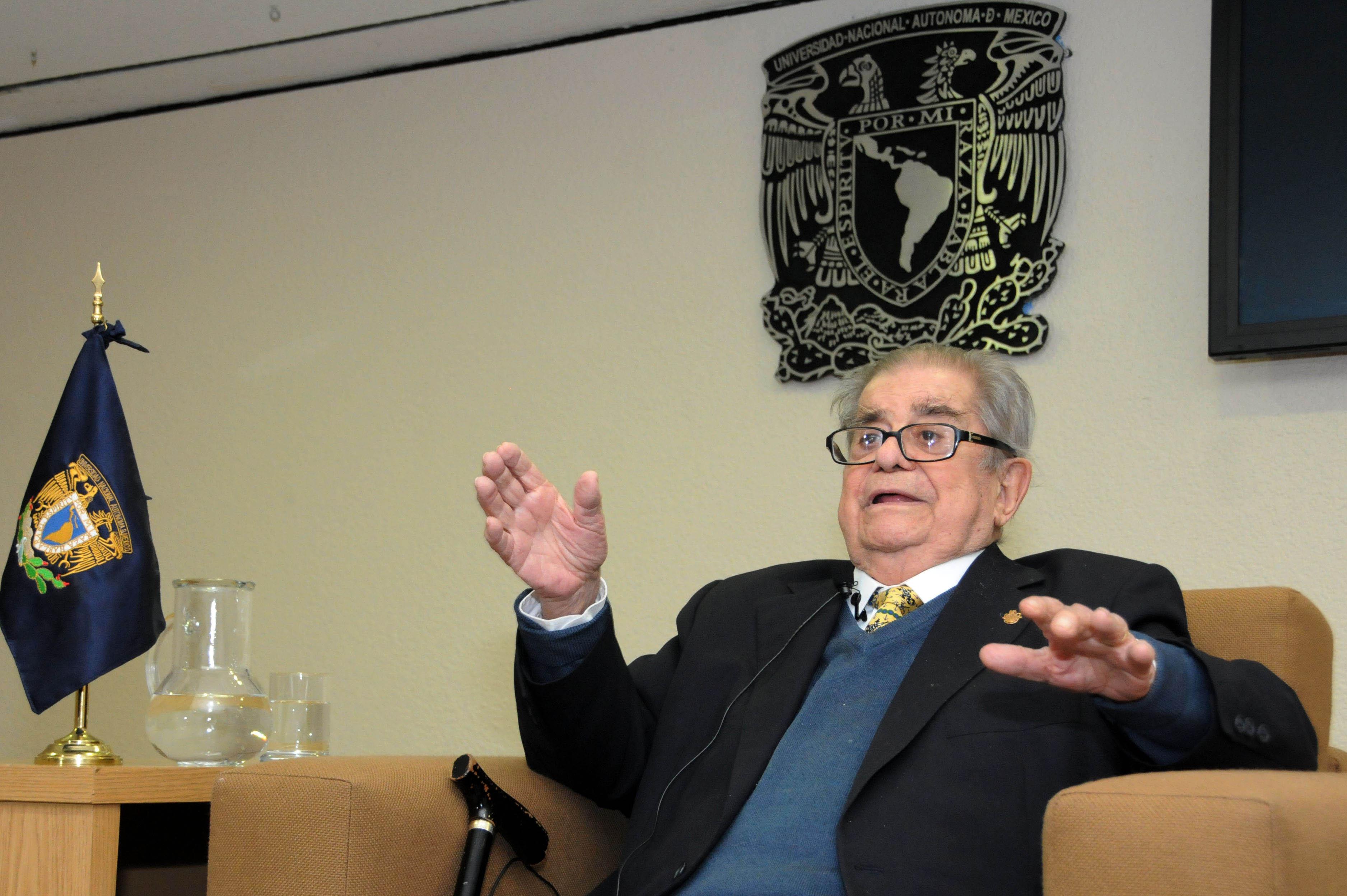 RECIBIRÁ MIGUEL LEÓN-PORTILLA EN LA UNAM, DOCTORADO HONORIS CAUSA POR LA UNIVERSIDAD DE SEVILLA