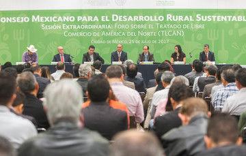 Las propuestas de productores del campo serán orientación y guía en la renegociación del TLCAN