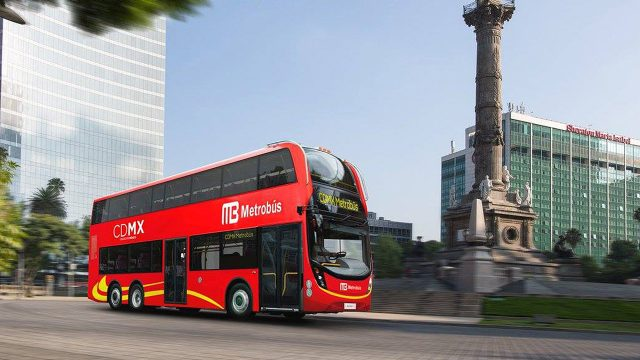 Hay garantía en seguridad de autobuses de la línea 7 de Metrobús