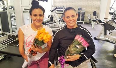 Festejan Nely Miranda y Vianney Trejo cumpleaños con entrenamiento en CEPAMEX