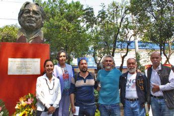 Conmemoran en Tlalpan a periodistas asesinados
