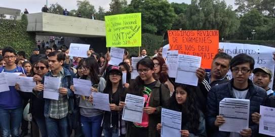EXIGEN A LA UNAM RESPETAR RESULTADOS DE COMIPEMS