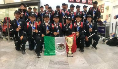 Selección de béisbol sub-12 gana bronce histórico en Mundial en Taiwán