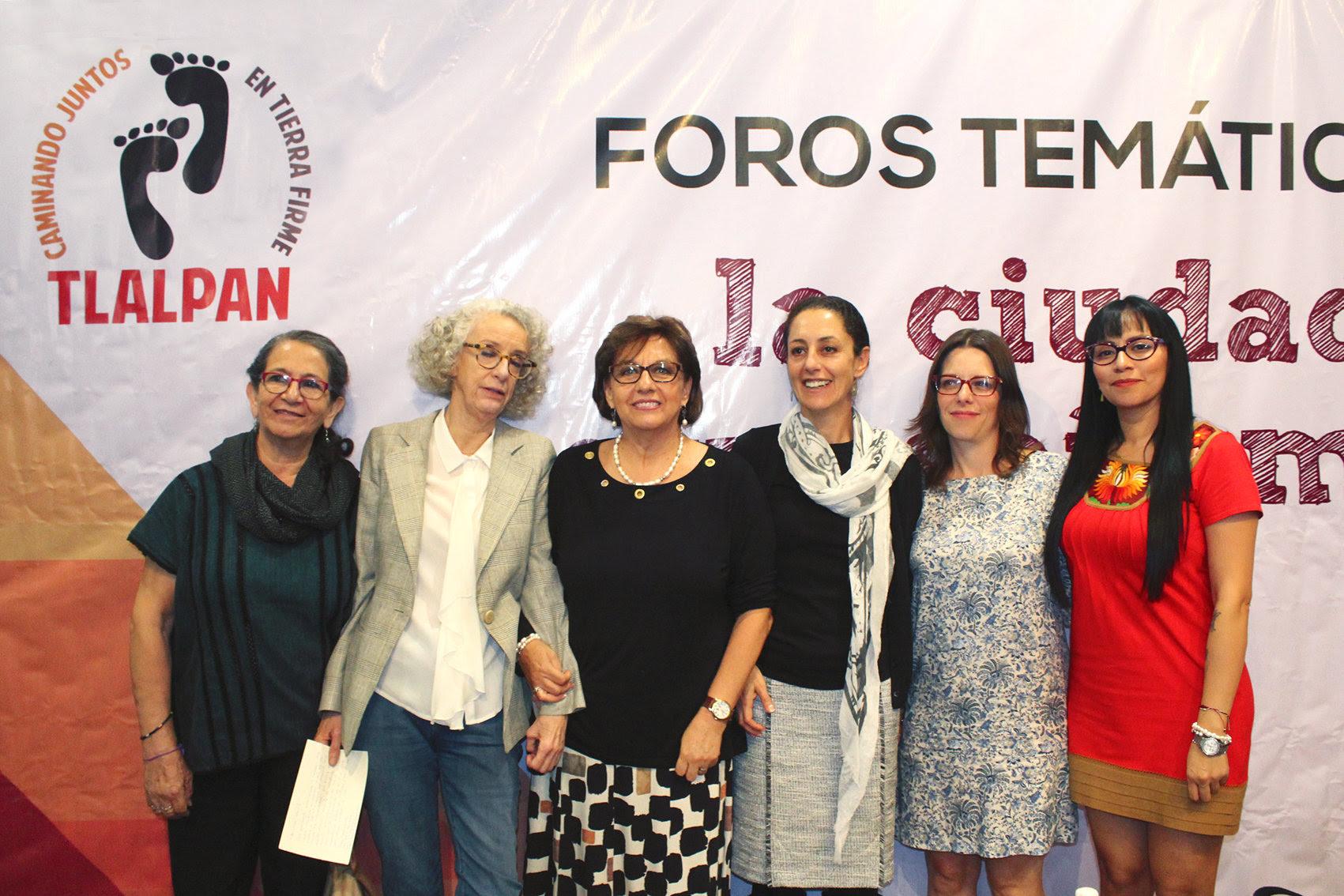Las mujeres deseamos una ciudad libre de violencia: Claudia Sheinbaum Pardo