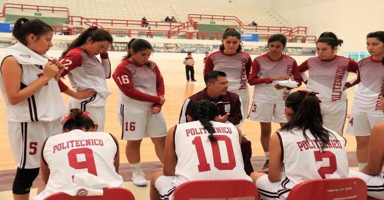 Inicia campeonato nacional de basquetbol femenil sub-21 en el IPN