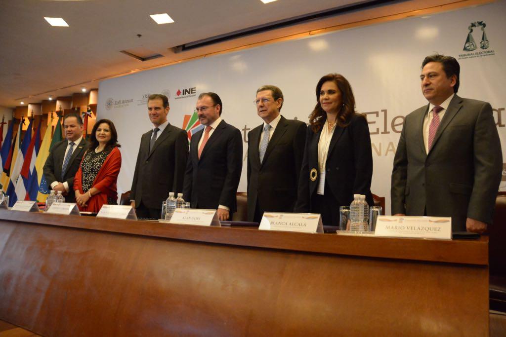 Pide Consejero Yuri Gabriel Beltrán Miranda visibilizar procesos locales en Integridad Electoral