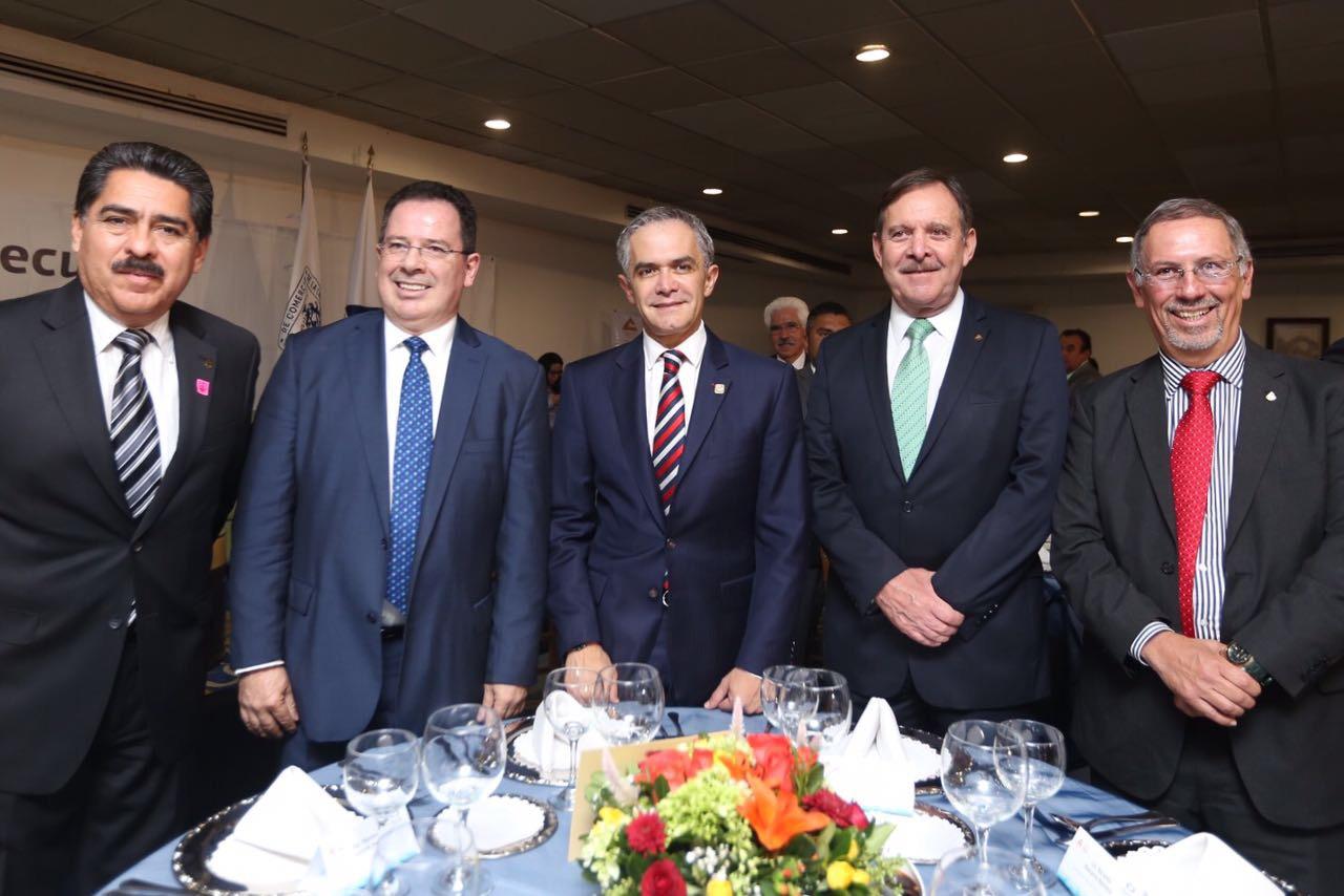 México tendrá éxito en el proceso de modernización del TLCAN: Jefe de Gobierno