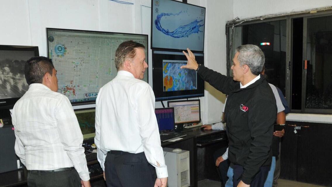 Supervisa Jefe de Gobierno acciones para mitigar afectaciones por lluvias