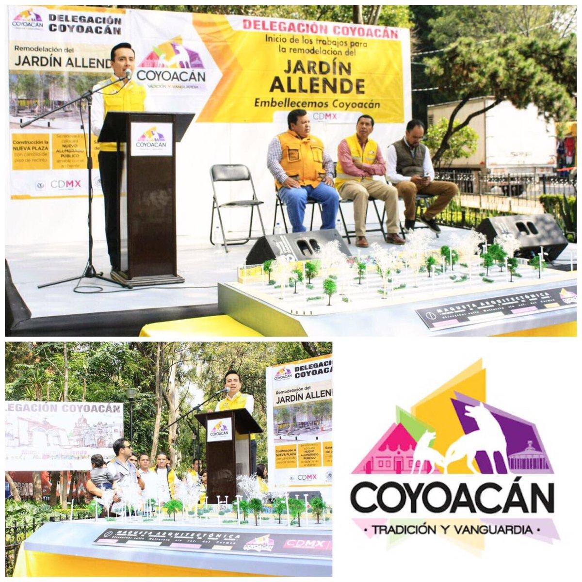 Coyoacán anuncia la remodelación del Jardín Allende