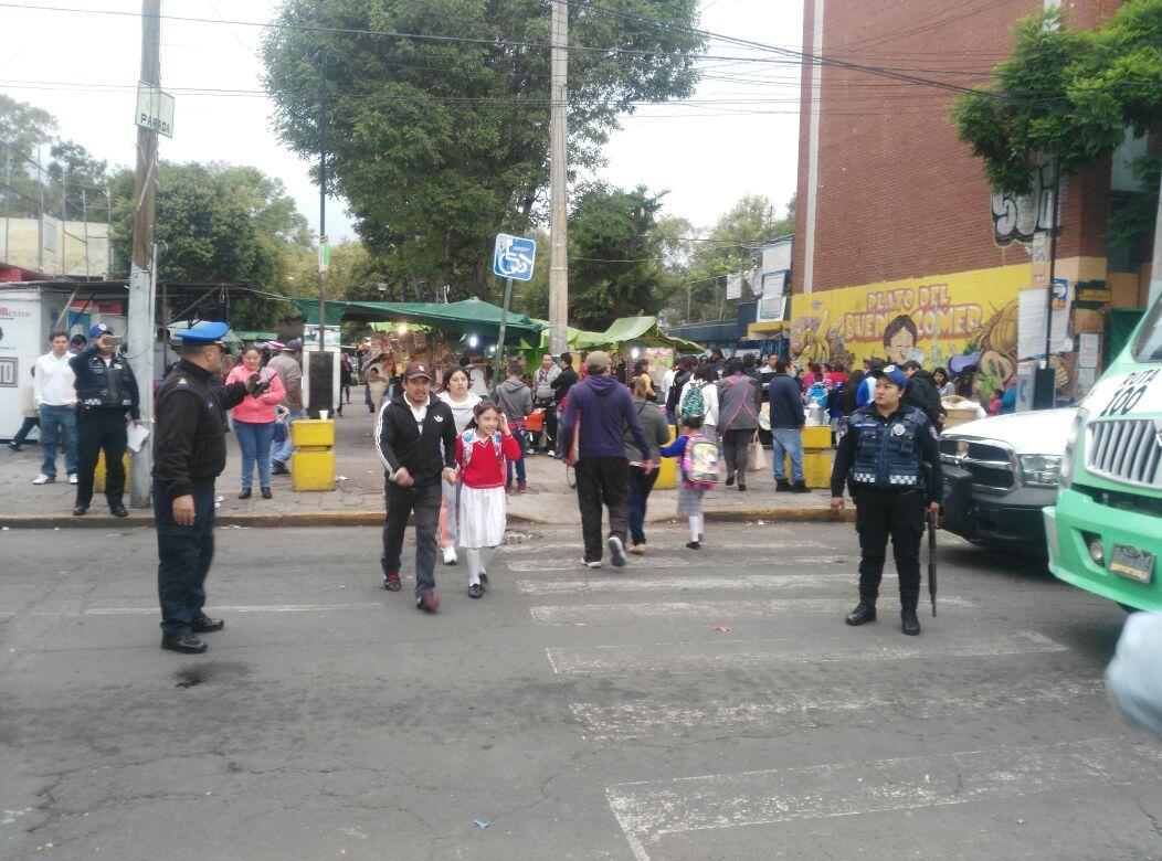 REACTIVAN DISPOSITIVOS DE SEGURIDAD EN PLANTES EDUCATIVOS DE XOCHIMILCO