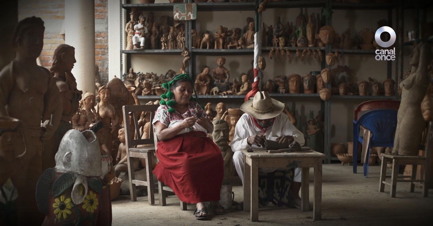 CREACIÓN Y OFICIO DOCUMENTA LA TRANSMISIÓN EL CONOCIMIENTO Y TALENTO DE ARTESANOS MEXICANOS