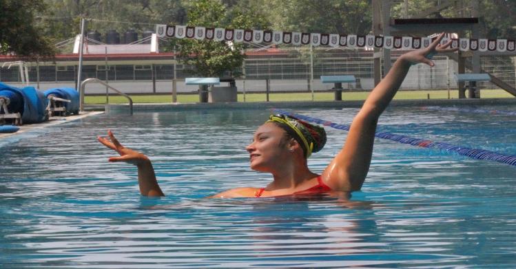 Logra politécnica sexto lugar mundial en nado sincronizado