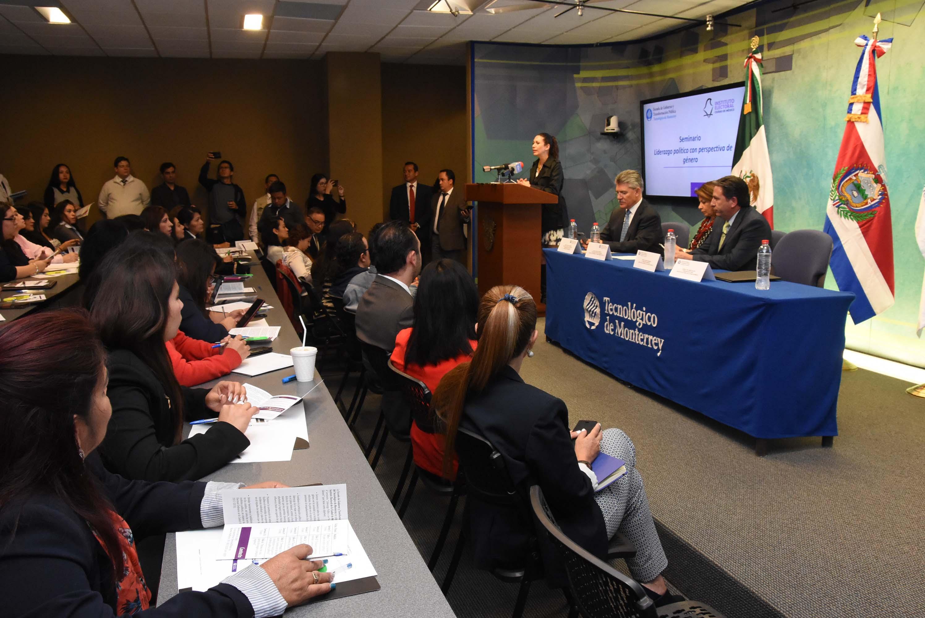 Impulsan IECM y Tec de Monterrey liderazgo político de las mujeres