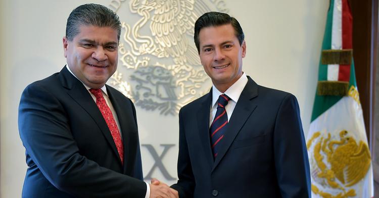 Reunión con el Gobernador Electo de Coahulia