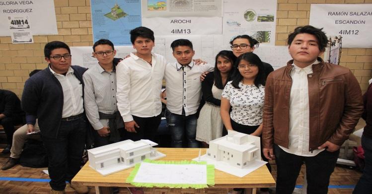 Proyecto politécnico permite la construcción de casas sustentables
