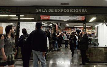 EXPOSICIÓN MEMORIA FOTOGRÁFICA DE MÉXICO VIAJA EN METRO