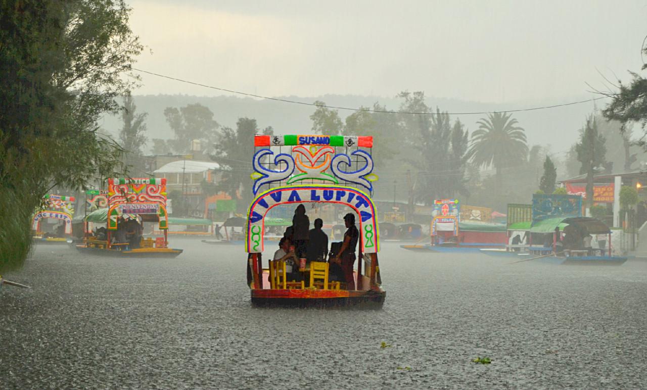 Destinará GCDMX 14 millones de pesos a productores de Xochimilco afectados por lluvias