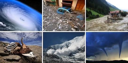 ONU SEÑALA QUE SE HAN CUADRIPLICADO LOS DESASTRES EN EL MUNDO