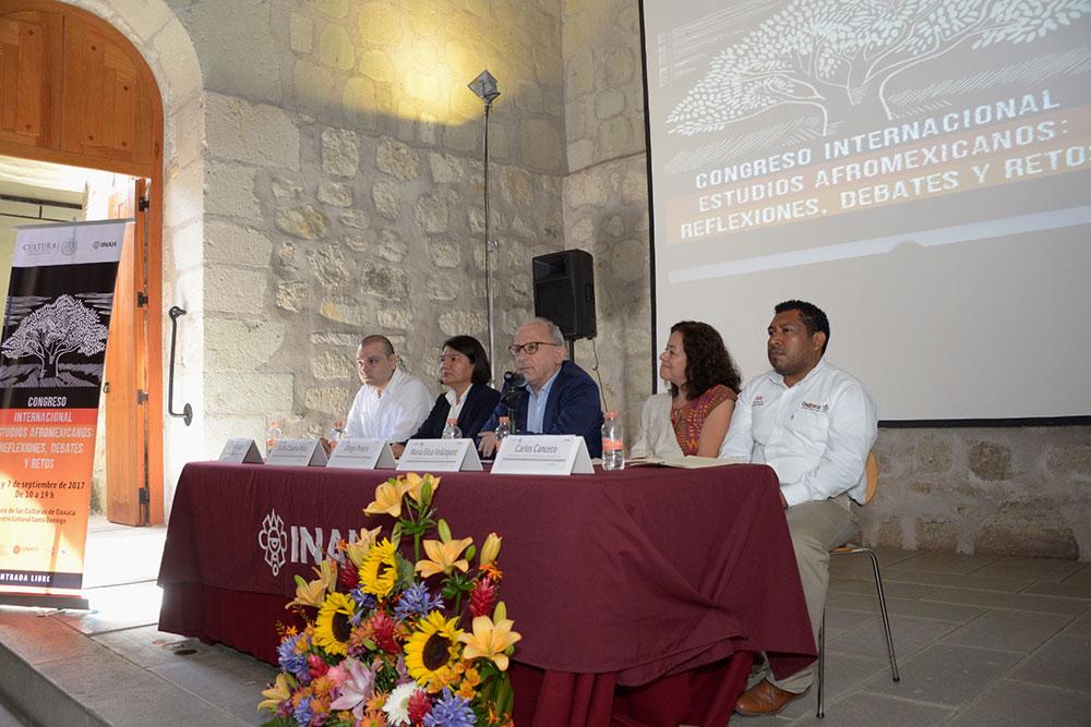 INICIA EN OAXACA EL CONGRESO INTERNACIONAL ESTUDIOS AFROMEXICANOS
