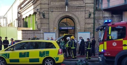 INVESTIGAN ATENTADO TERRORISTA EN METRO DE LONDRES