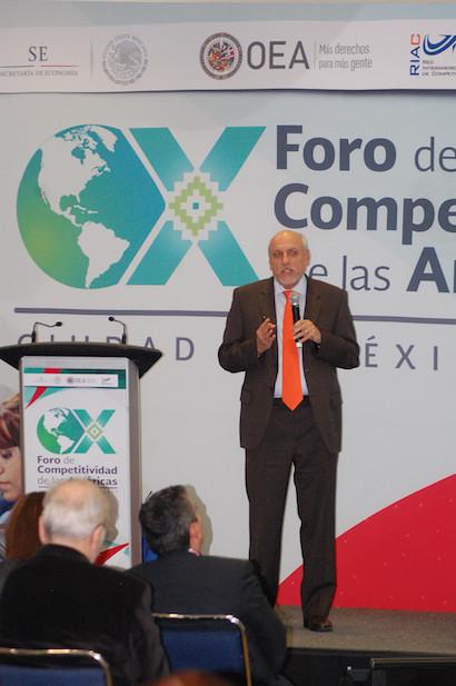 Participa el Conacyt en 10 Foro de Competitividad de las Américas