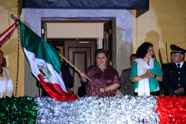 ENCABEZA XÓCHITL GÁLVEZ FESTEJOS POR EL  CCVII ANIVERSARIO DE LA INDEPENDENCIA DE MÉXICO