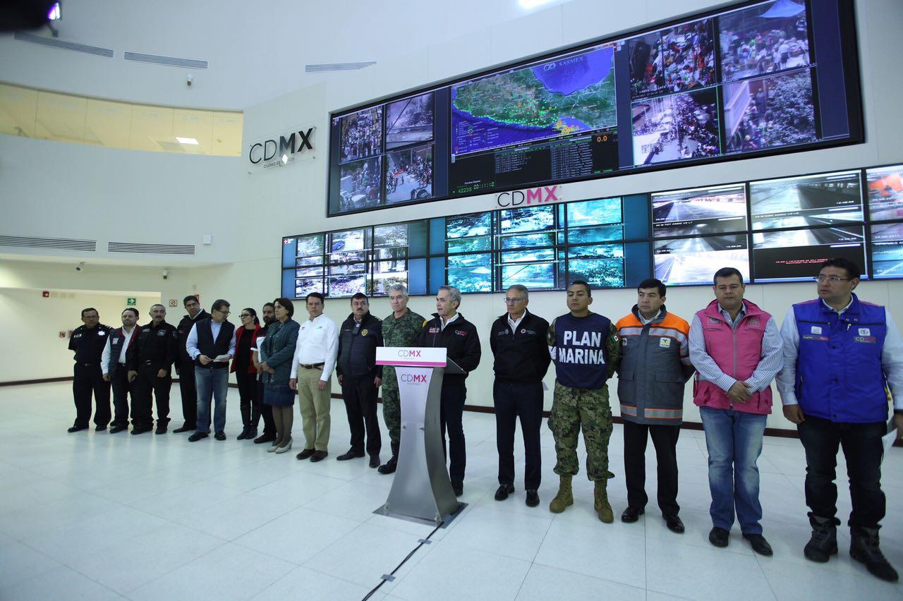 Emitirá Jefe de Gobierno declaratoria de desastre para CDMX tras terremoto