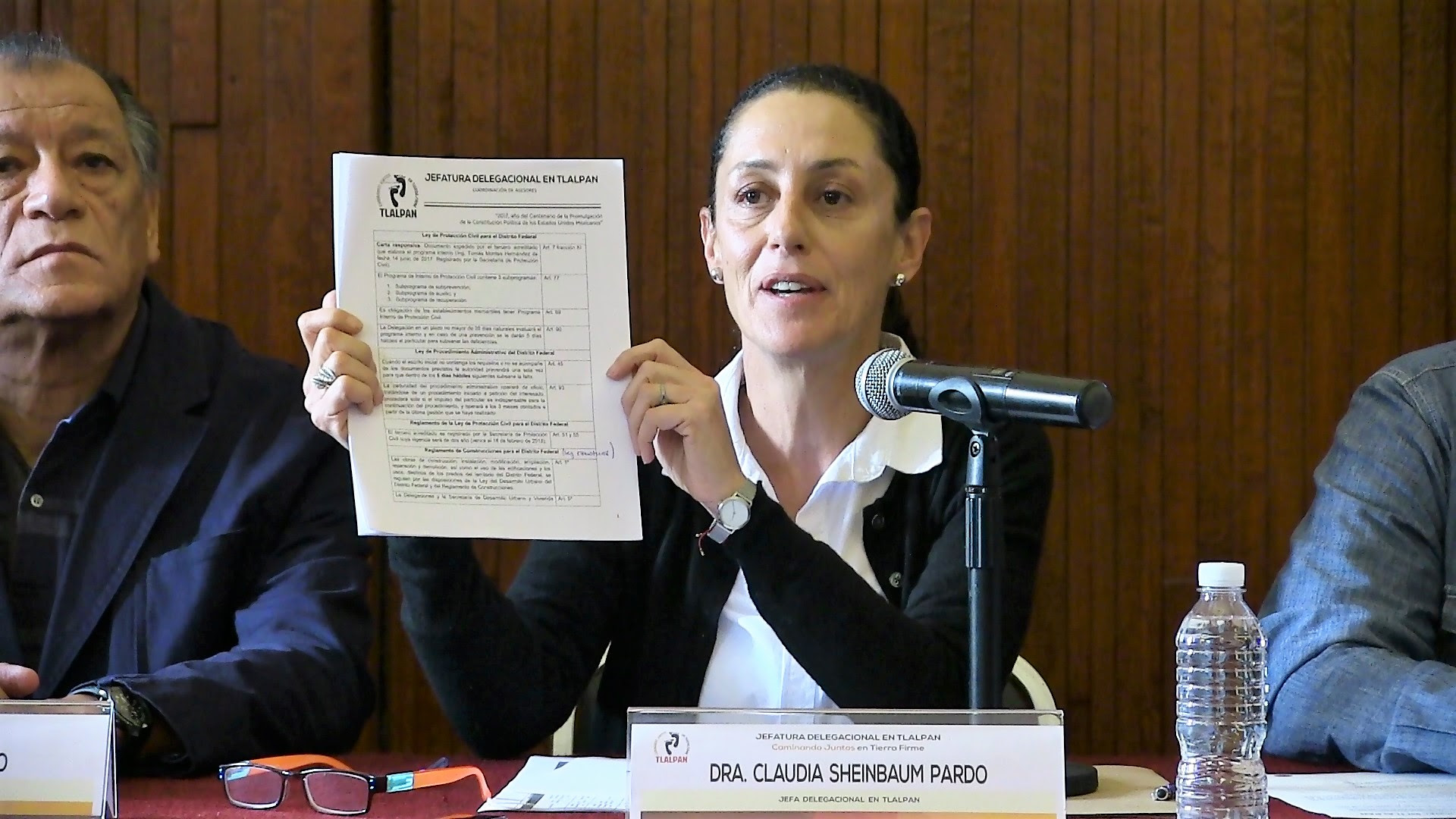 Anuncia Claudia Sheinbaum creación de fondo de apoyo a damnificados por sismo