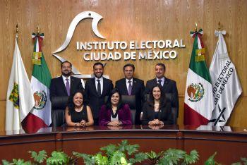 Se fortalece Consejo General de IECM con nueva integración, rumbo a elecciones de 2018