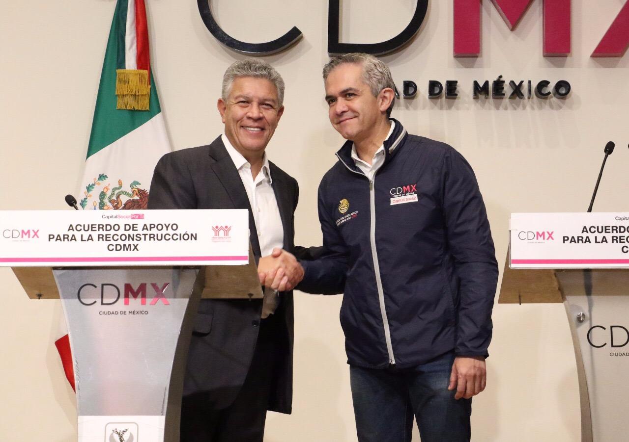 LANZAN APOYO A TRABAJADORES DEL ESTADO POR TERREMOTO EN MÉXICO