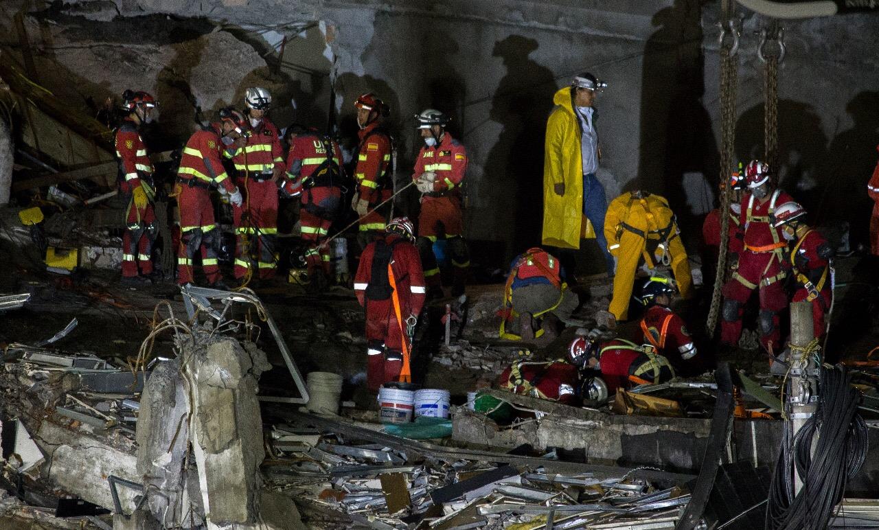 SE ELEVA A 222 LA CIFRA DE MUERTOS EN LA CDMX POR TERREMOTO