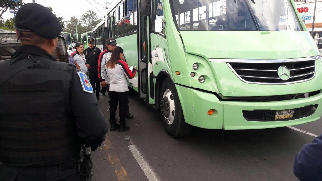 Semovi sanciona a 36 unidades de transporte público concesionado