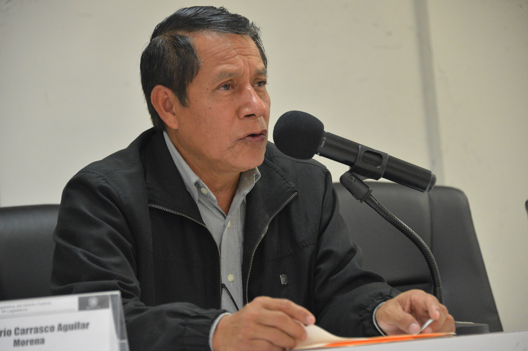 URGE DARÍO CARRASCO GARANTIZAR SEGURIDAD HUMANA DE CAPITALINOS