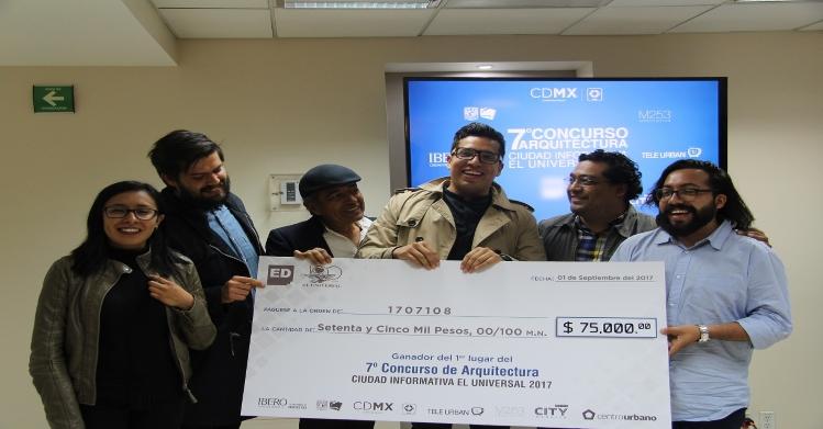 Triunfan egresados politécnicos en el concurso Ciudad Informativa