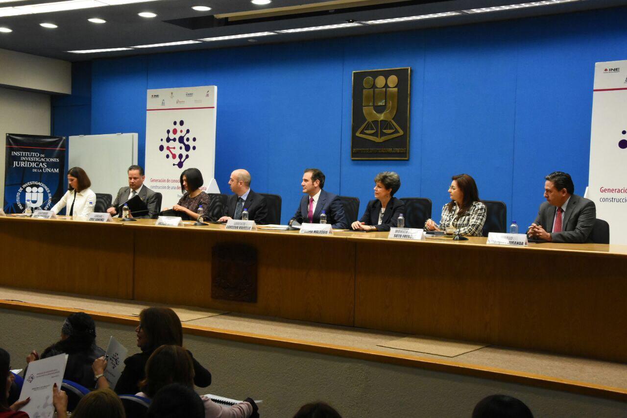 Promueven Organismos Electorales e instituciones académicas mayor participación política de las mujeres