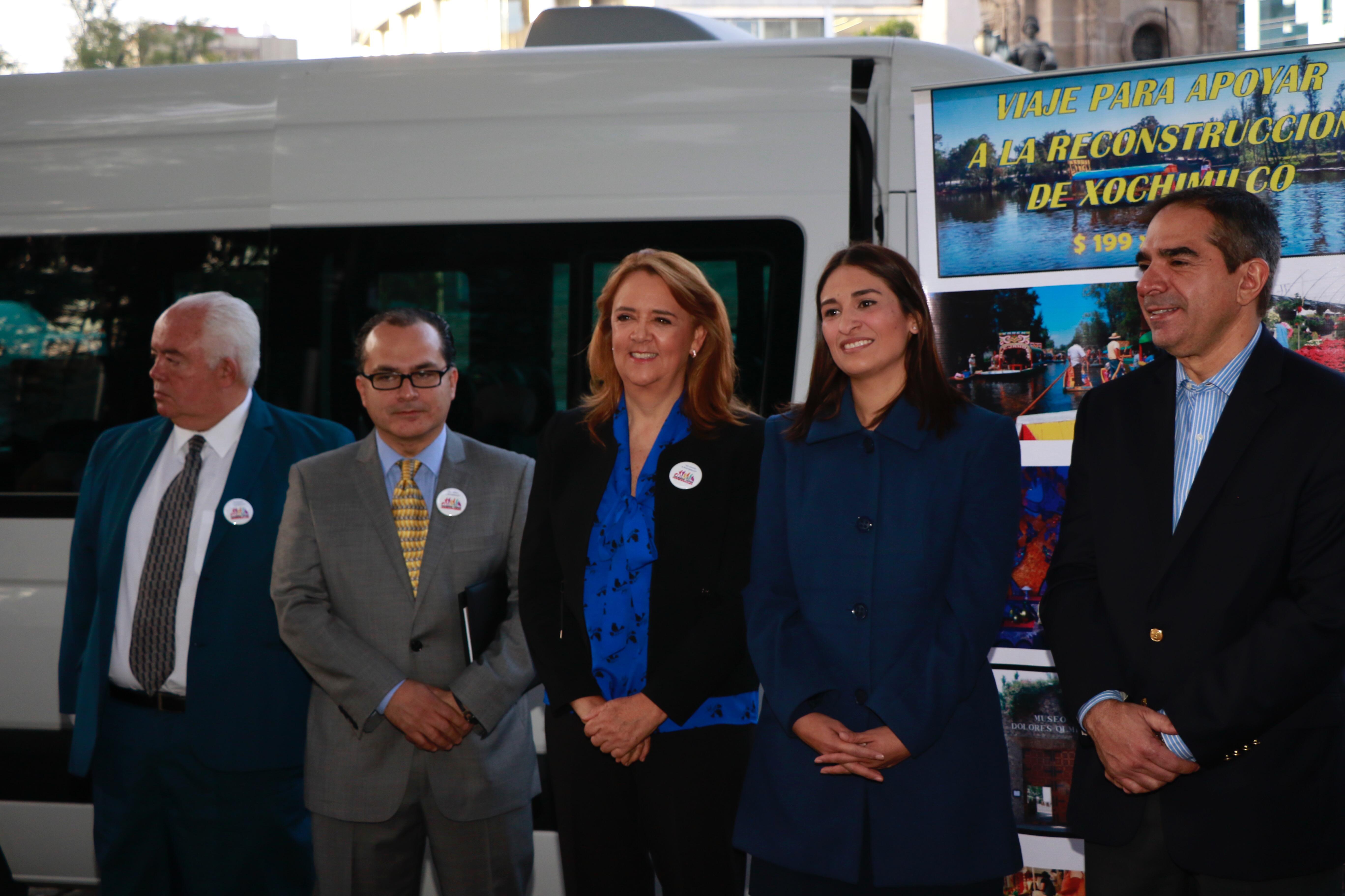Inician viajes de turismo solidario a Xochimilco, para reactivar la economía