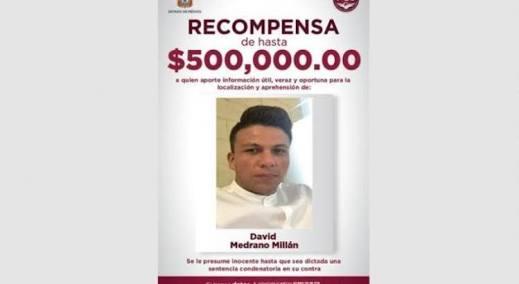 OFRECEN MEDIO MILLÓN DE PESOS POR MULTIHOMICIDA DE TULTEPEC