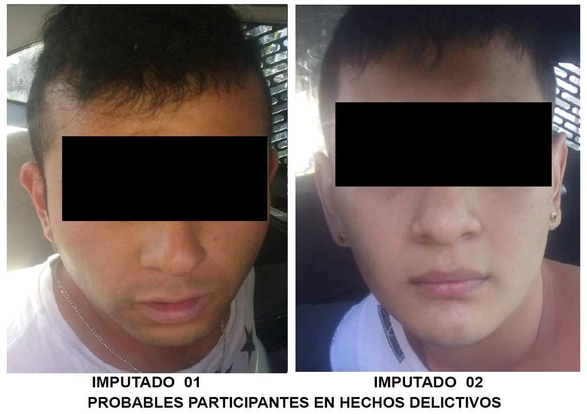 PGJ ejerce acción penal contra dos hombres que presuntamente asaltaron a tres personas en Azcapotzalco