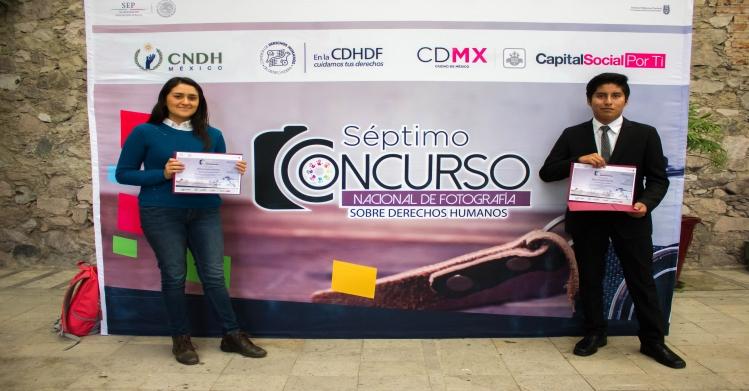 Triunfan politécnicos en Séptimo Concurso Nacional de Fotografía Sobre Derechos Humanos