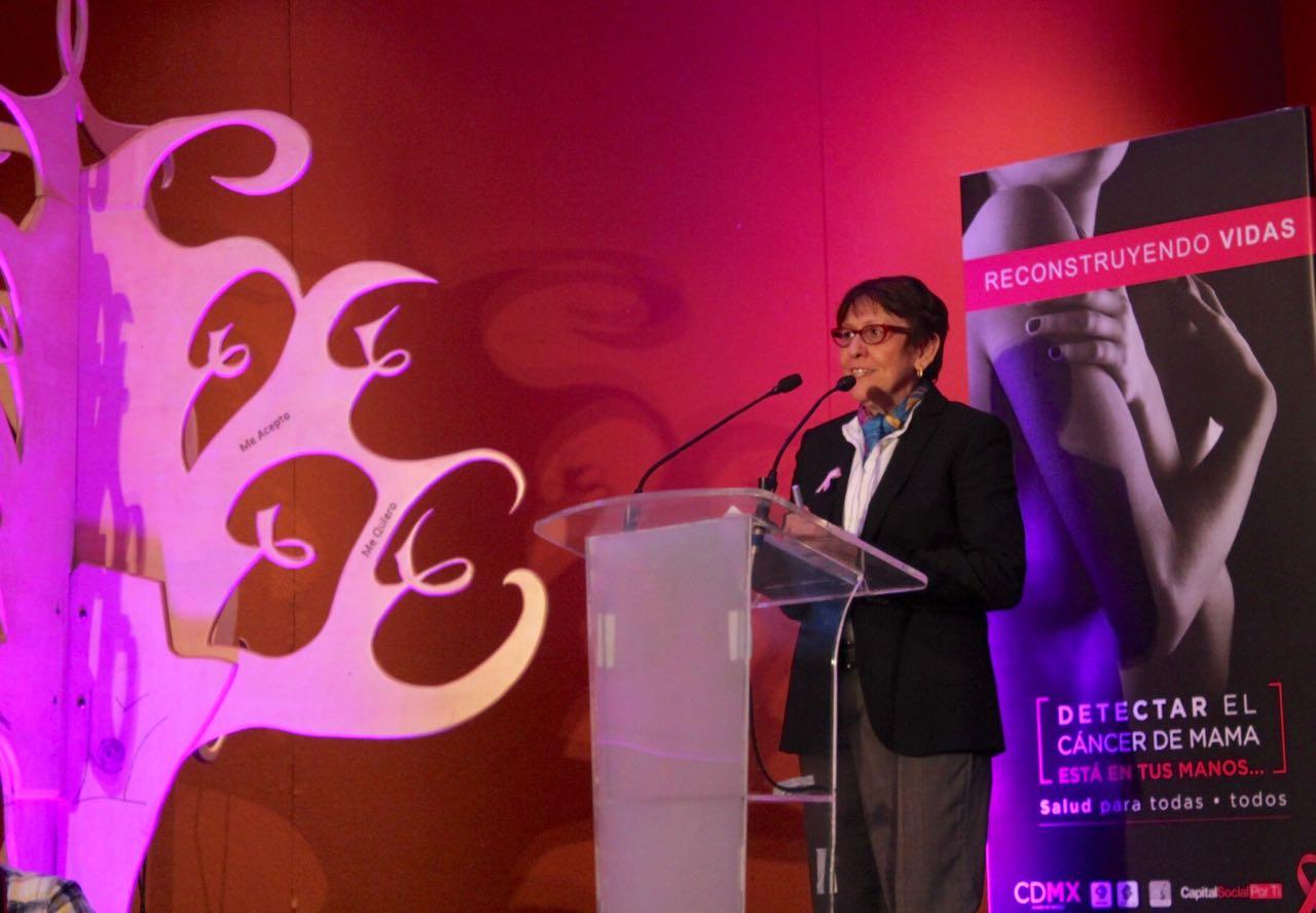 Coadyuva GCDMX en rehabilitación física de mujeres con cáncer de mama