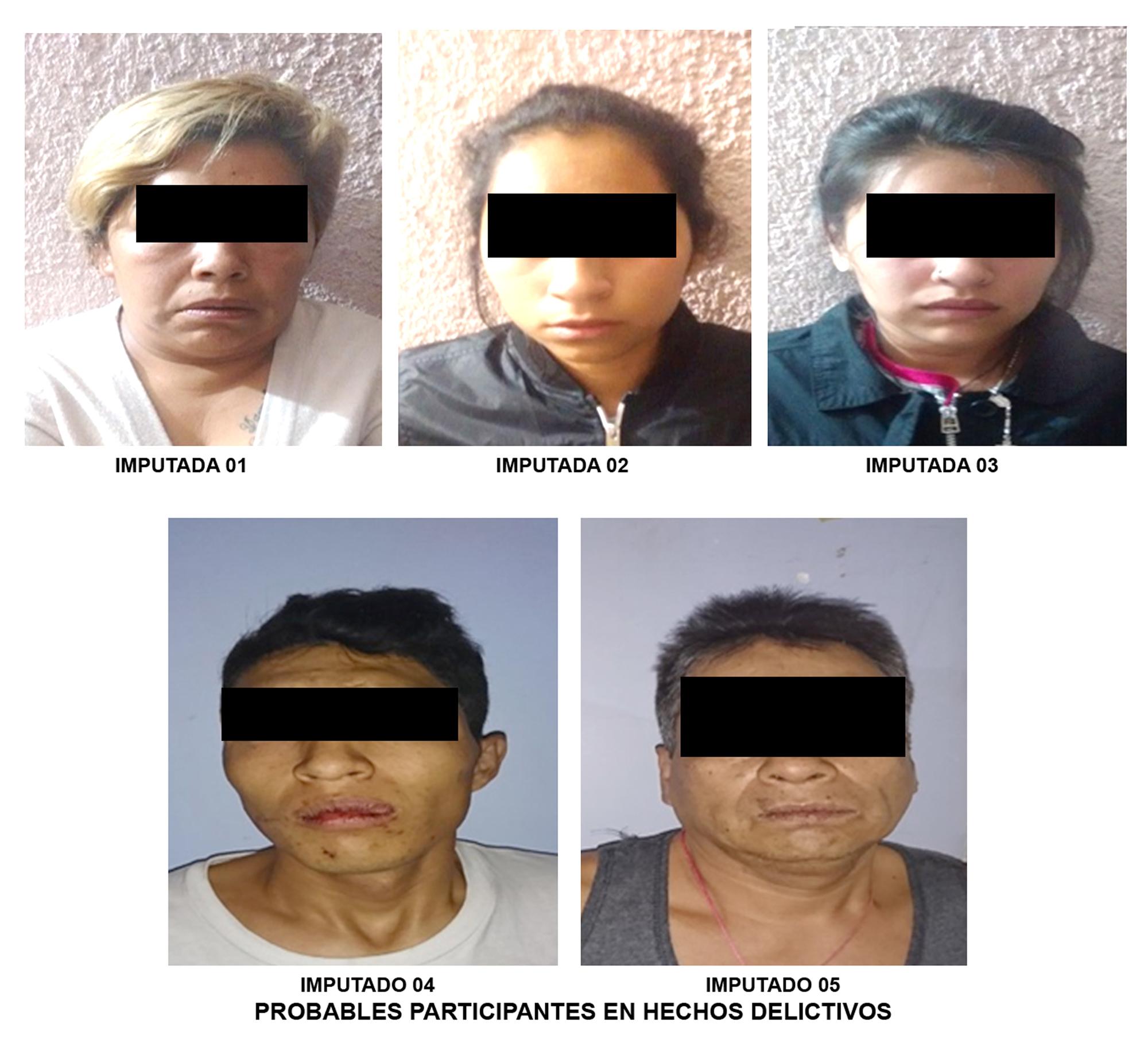 En un cateo realizado en Álvaro Obregón, detiene PGJ a familia y les decomisa drogas